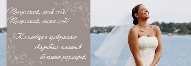 свадебные платья больших размеров картинка