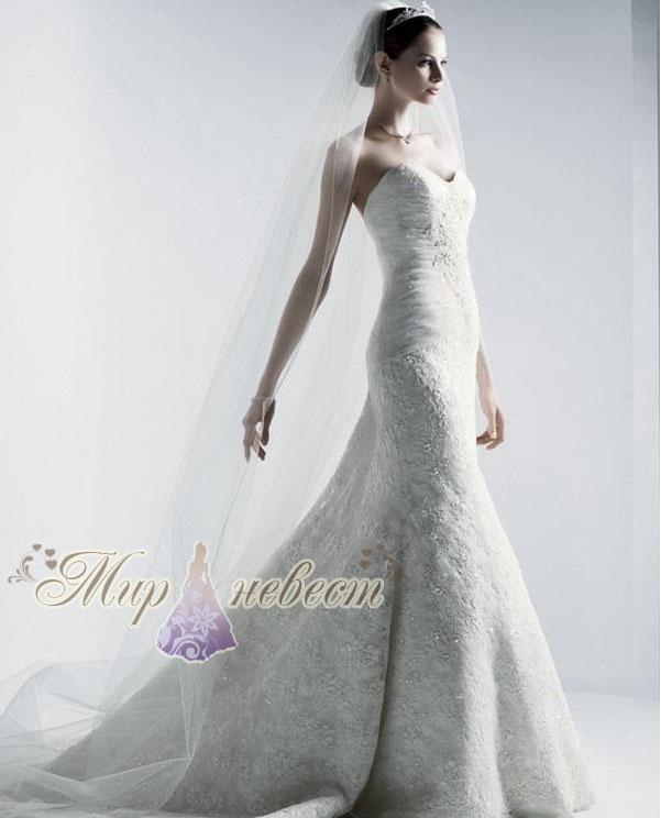 свадебное платье Oleg Cassini картинка