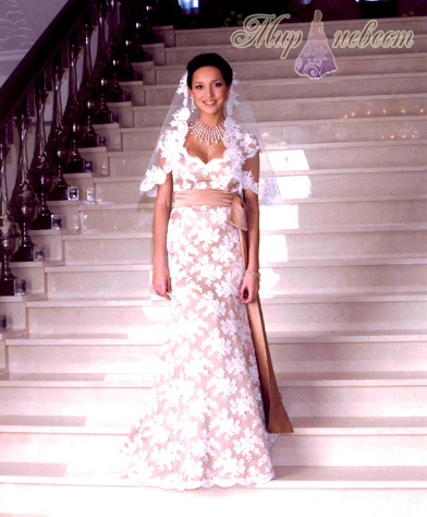 свадебное платье Алсу картинка