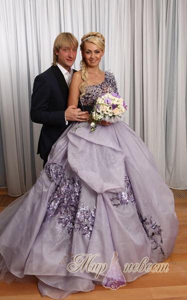 свадебное платье Рудковской картинка