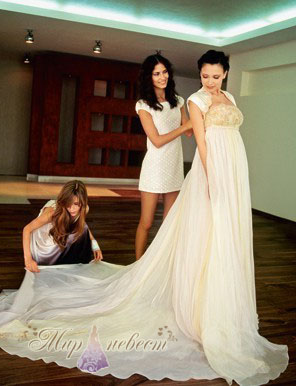 Примета примерки свадебного платья