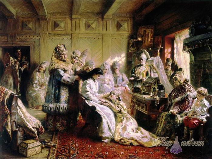 свадебные традиции картинка