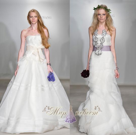 свадебные платья verawang картинка