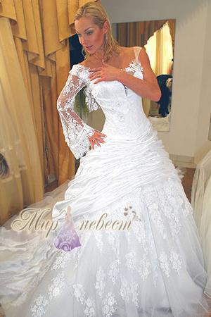 свадебное платье Волочковой картинка