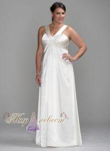 Красивое, длинное свадебное платье Style 9INT1049 - Интернет магазин Мир...