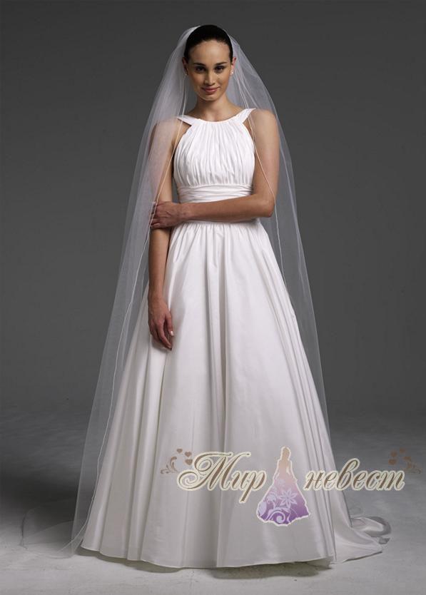 Белая платья белая фата с доставкой