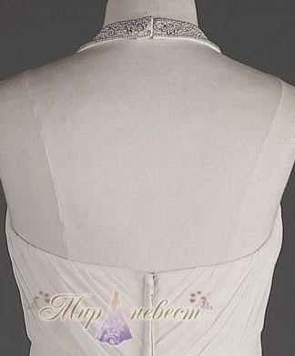 Стильное шифоновое свадебное платье Style svc9840-интернет магазин Мир Невест